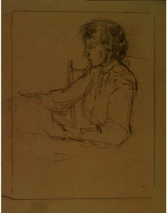 Julian Alden Weir - Anna D. Weir In Profile
