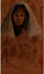 Julian Alden Weir - Anna Weir Dressed Like A Nun