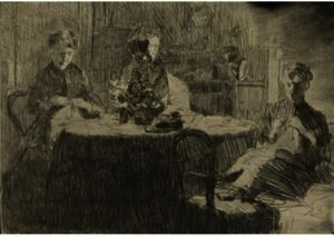 Julian Alden Weir - Around The Table