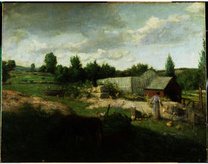 Julian Alden Weir - Connecticut Farm