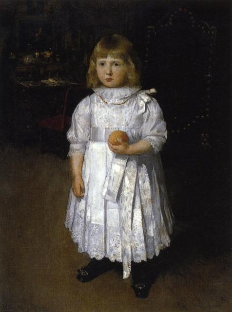 famous painting Portrait of Cara of Julian Alden Weir