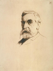 Julian Alden Weir - Portrait of Robert Weir