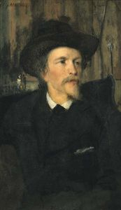 Julian Alden Weir - Portrait of Wyatt Eaton
