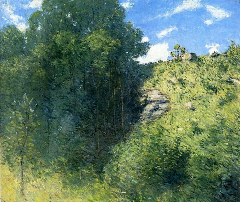 famous painting Ravine near Branchville of Julian Alden Weir