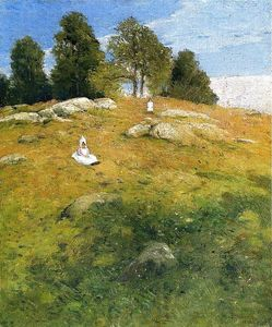 Julian Alden Weir - Summer Afternoon, Shinnecock Landscape