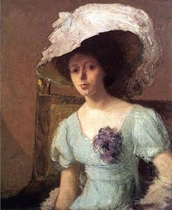 Julian Alden Weir - The Blue Gown