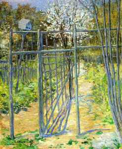 Julian Alden Weir - The Grey Trellis