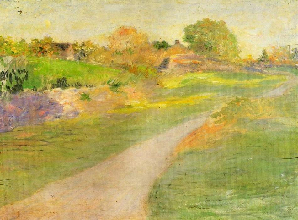 famous painting The Road to No Where of Julian Alden Weir