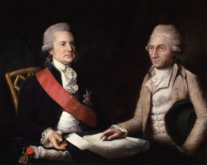 Lemuel Francis Abbott - George Macartney, 1st Earl Macartney; Sir George Leonard Staunton, 1st Bt