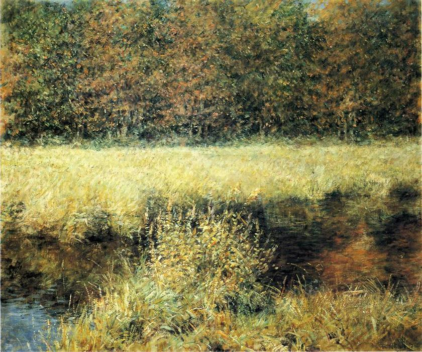 famous painting Autumn Landscape of Robert Lewis Reid