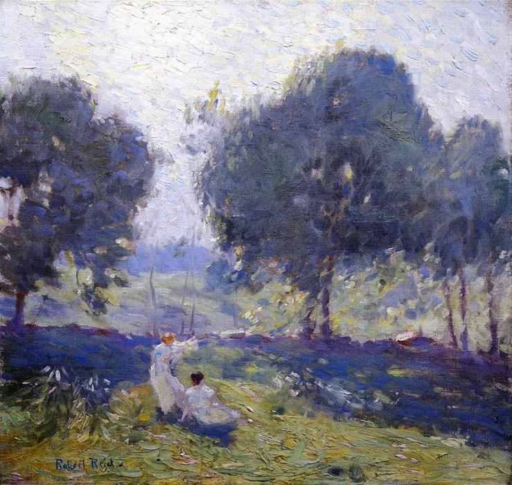 famous painting Breezy Day of Robert Lewis Reid