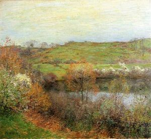 Willard Leroy Metcalf - Buds And Blossoms