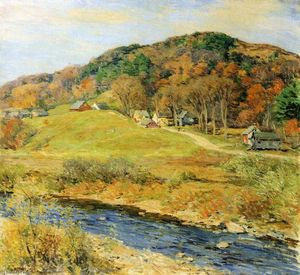 Willard Leroy Metcalf - November Mist