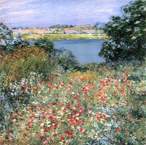Willard Leroy Metcalf - Poppy Garden