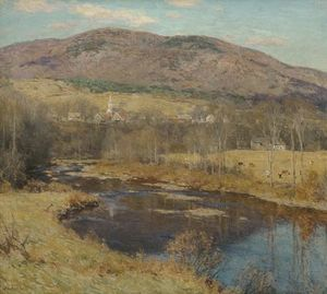 Willard Leroy Metcalf - The North Country