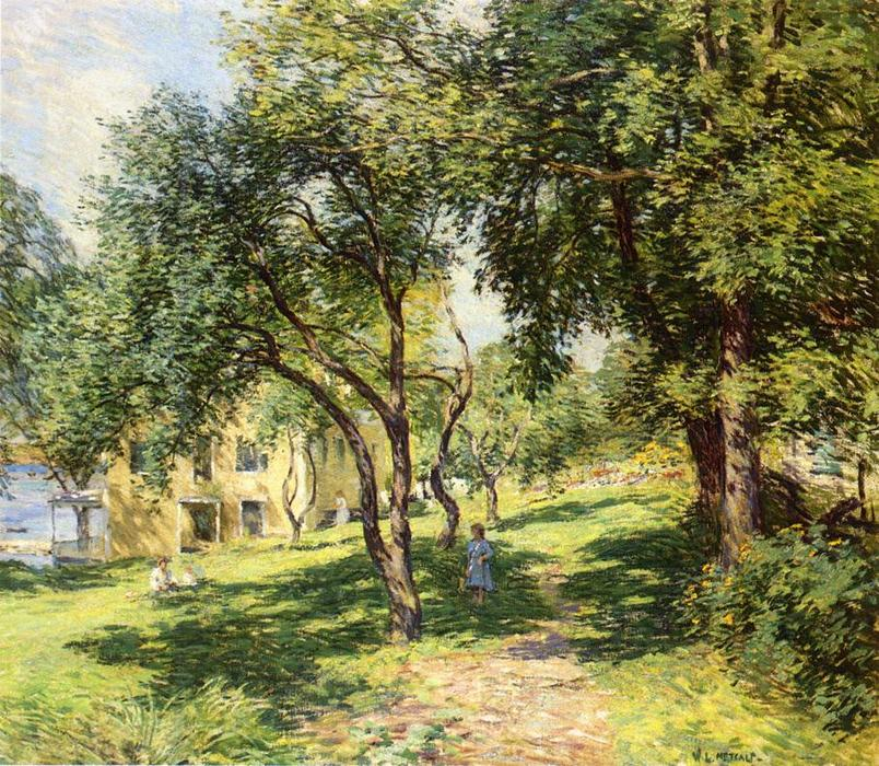 famous painting The Path of Willard Leroy Metcalf