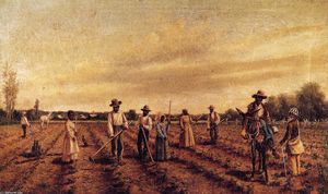 William Aiken Walker - Hoeing Cotton