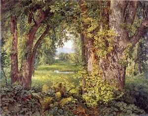 William Trost Richards - Into the Woods