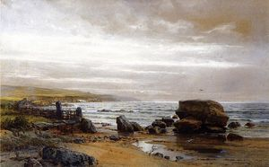 William Trost Richards - New England Coast