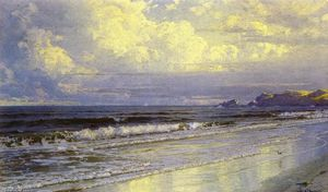 William Trost Richards - Second Beach, Neweport