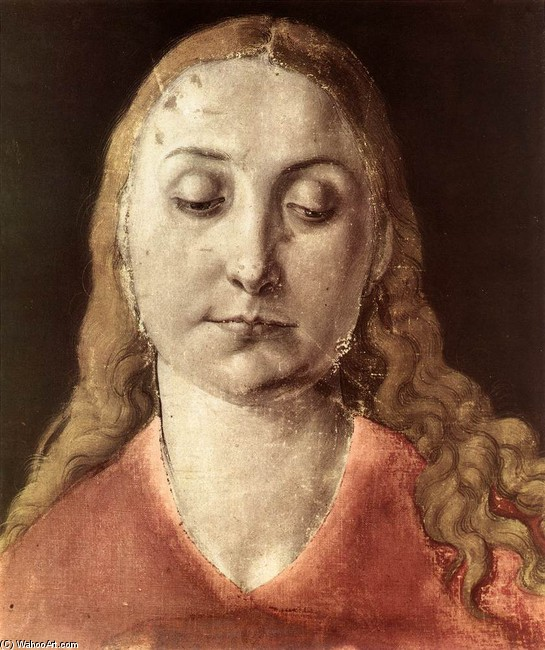 famous painting Head Of A Woman of Albrecht Durer