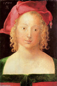 Albrecht Durer - Young Woman With A Red Beret