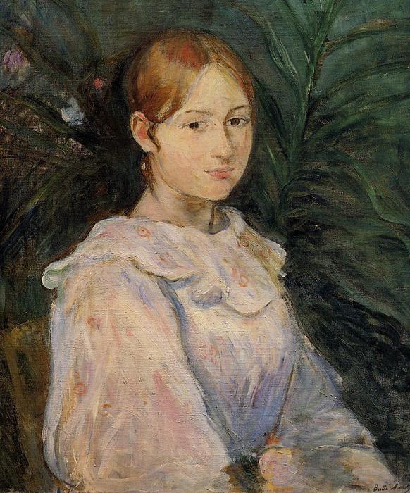 famous painting Bust of Alice Gamby of Berthe Morisot
