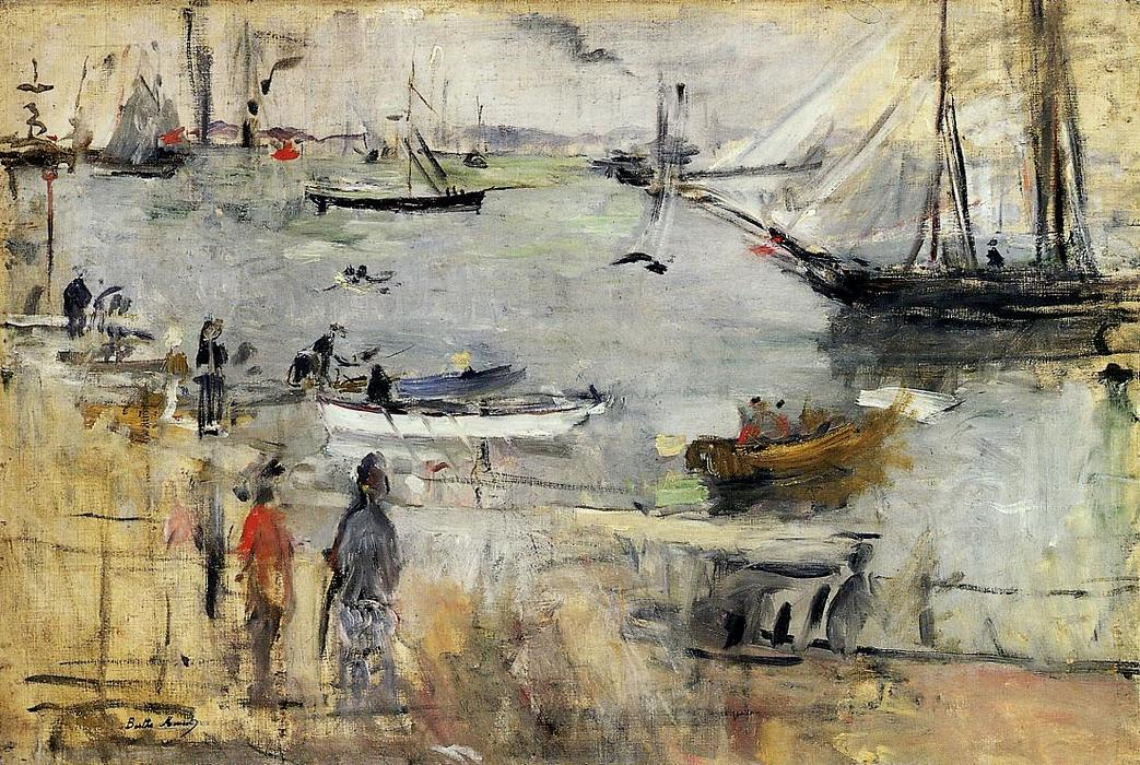 famous painting English Seascape of Berthe Morisot