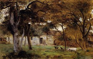 Berthe Morisot - Farm in Normandy