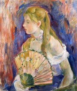 Berthe Morisot - Girl with Fan