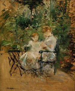 Berthe Morisot - In the Garden