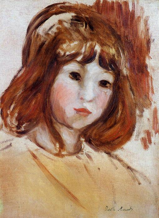 famous painting Portrait of a Young Girl of Berthe Morisot