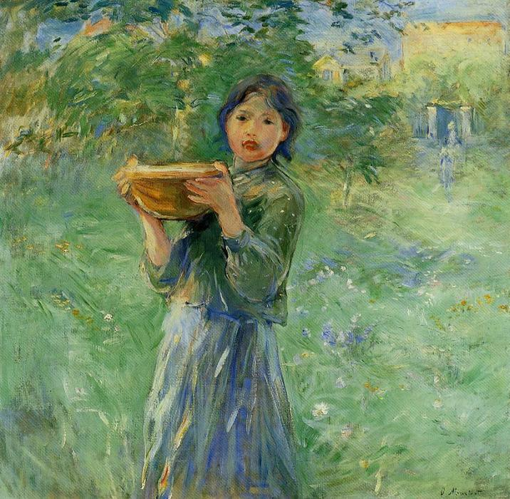 famous painting The Bowl of Milk of Berthe Morisot