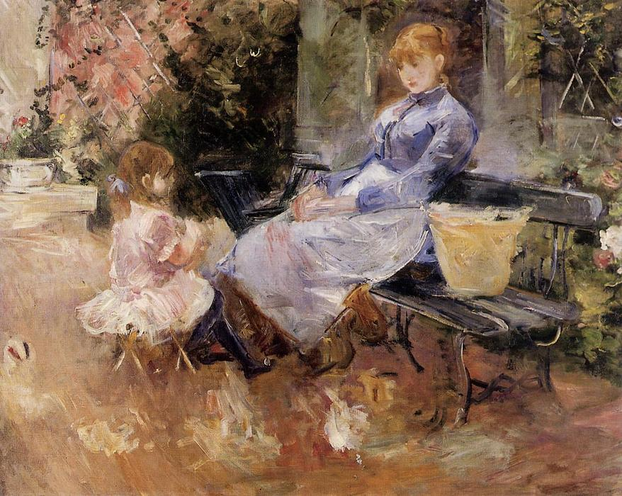 famous painting The Fable of Berthe Morisot
