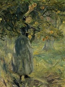 Berthe Morisot - The Orange Picker