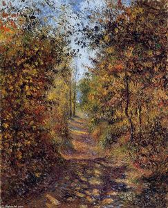 Camille Pissarro - A Path in the Woods, Pontoise