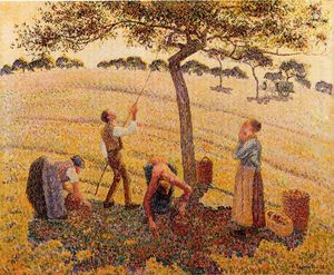 Camille Pissarro - Apple Pickers, Eragny
