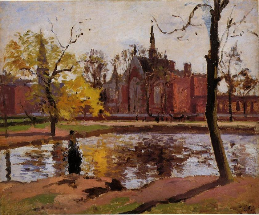 famous painting Dulwich College, London of Camille Pissarro