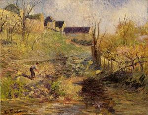 Camille Pissarro - Landscape at Osny 1