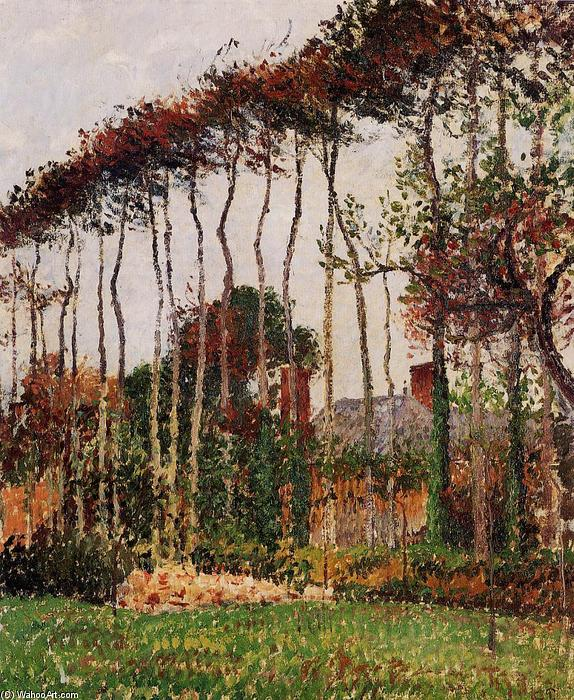 famous painting Landscape at Varengeville of Camille Pissarro