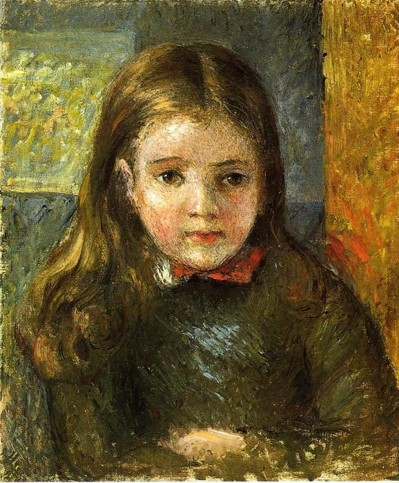 famous painting Portrait of Georges of Camille Pissarro