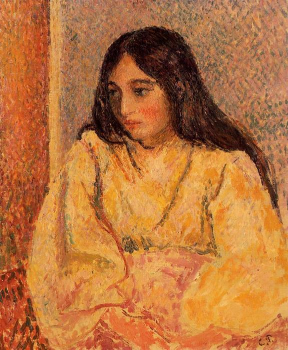 famous painting Portrait of Jeanne of Camille Pissarro