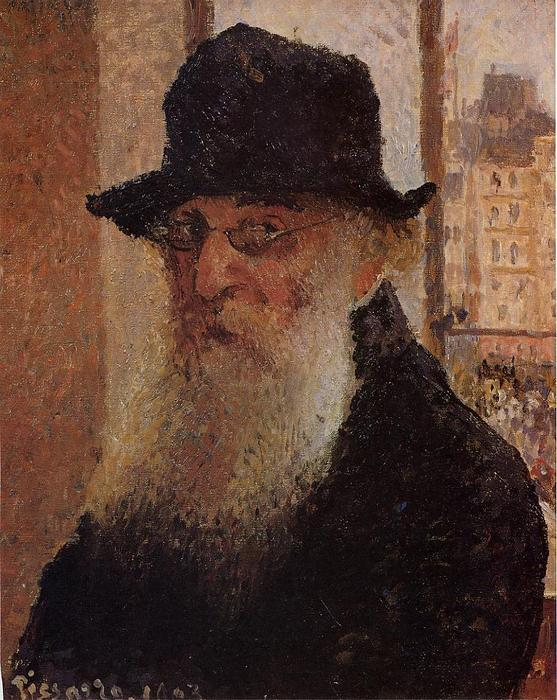 famous painting Self Portrait of Camille Pissarro