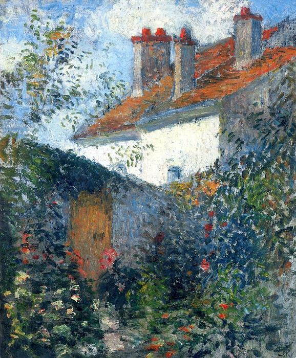 famous painting Study at Pontoise of Camille Pissarro