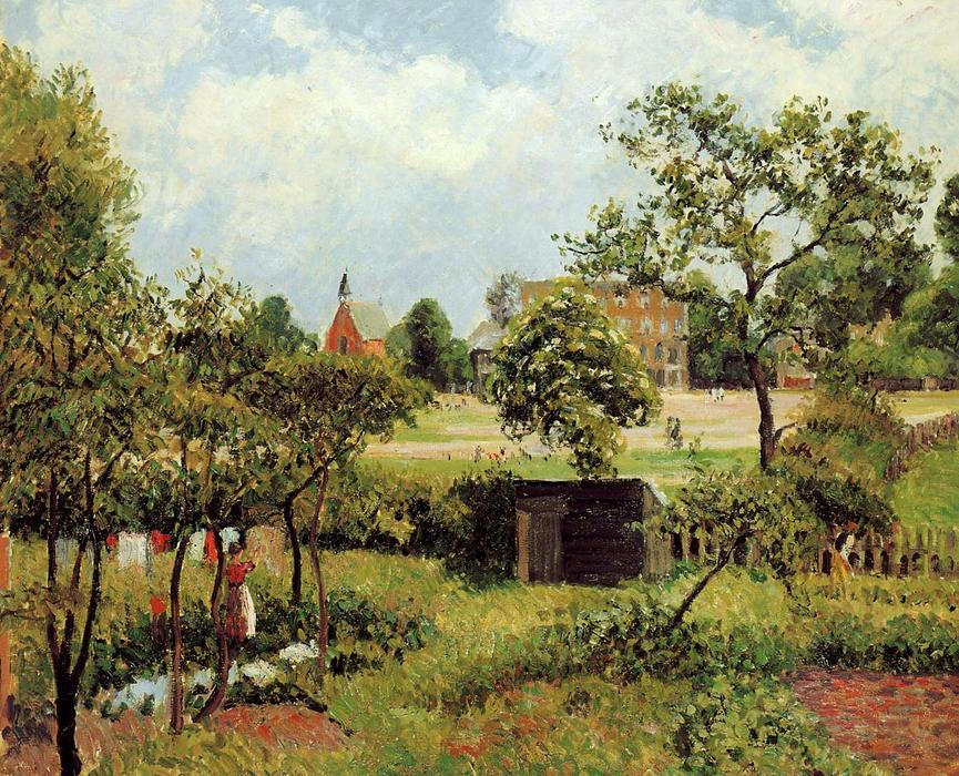 famous painting View Across Stamford Brook Common of Camille Pissarro