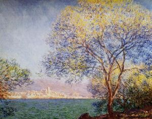 Claude Monet - Antibes in the Morning