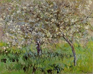 Claude Monet - Apple Trees in Bloom at Giverny