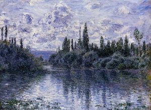 Claude Monet - Arm of the Seine near Vetheuil