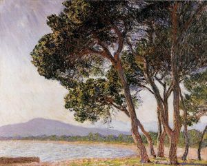 Claude Monet - Beach in Juan-les-Pins