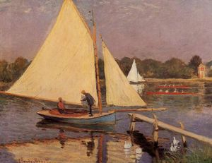 Claude Monet - Boaters at Argenteuil